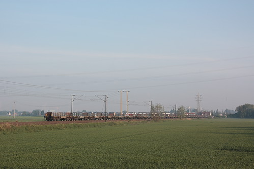 Fin de convoi + BB 27074 / Bierne