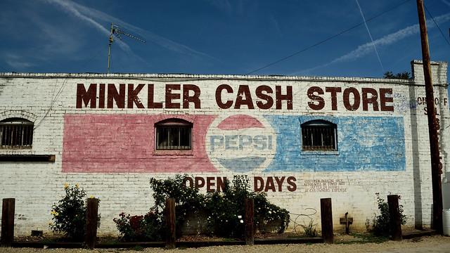 Minkler Cash Store