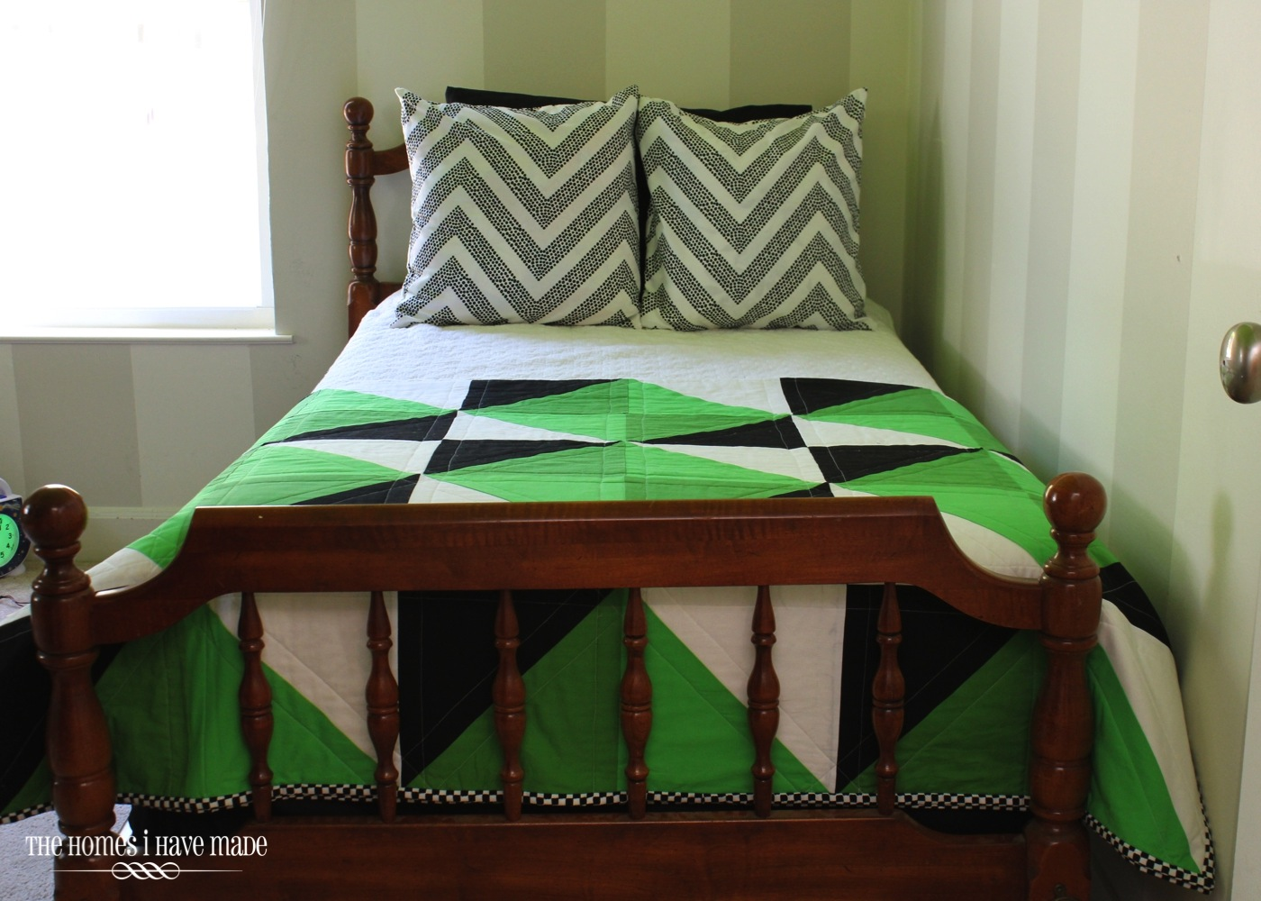 Henry's Green Quilt-010