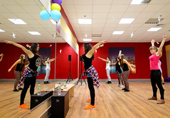 zumba, room, entertainment, physical fitness, dance, person, physical exercise,