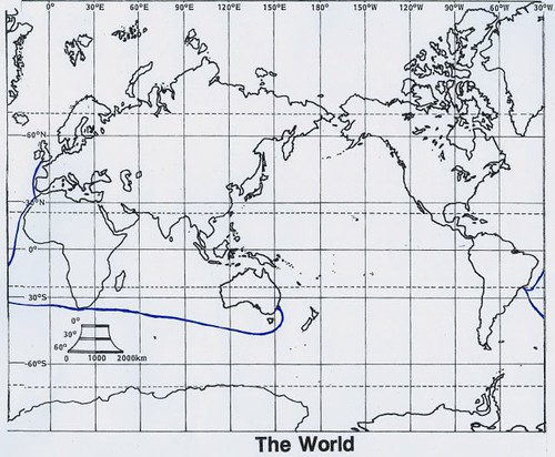 Route to Australia - Phillip and First Fleet