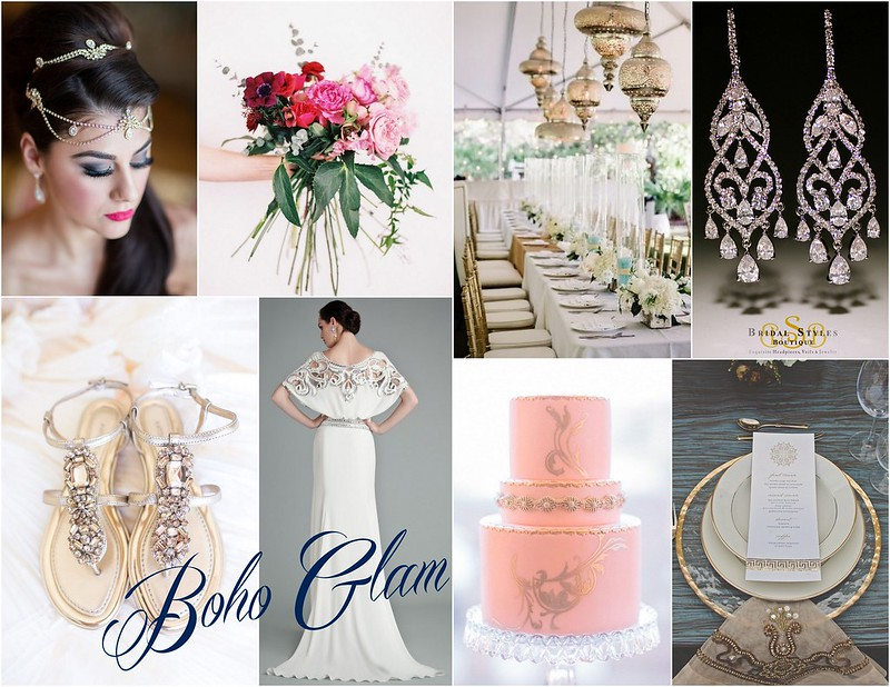Bohemian Glam wedding inspiration