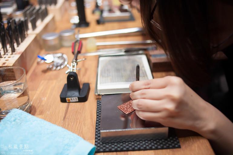 台南私藏景點--小安的店DIY銀飾 (14)