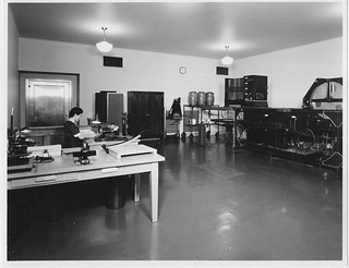 Photograph of a Photostat Machine and Vari-Typer at the Division of Photographic Archives and Research, 07/10/1936