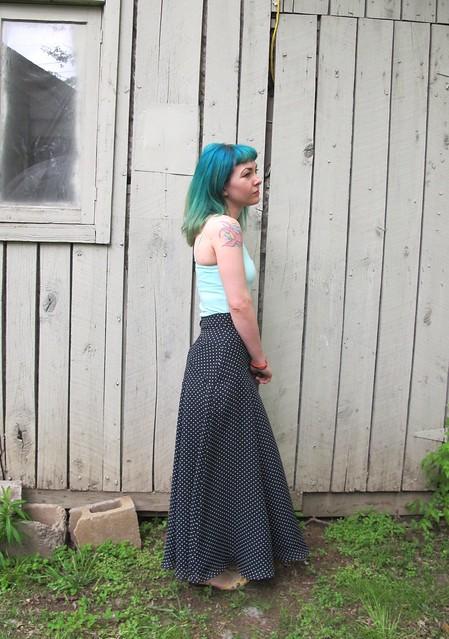 Gabriola Maxi Skirt
