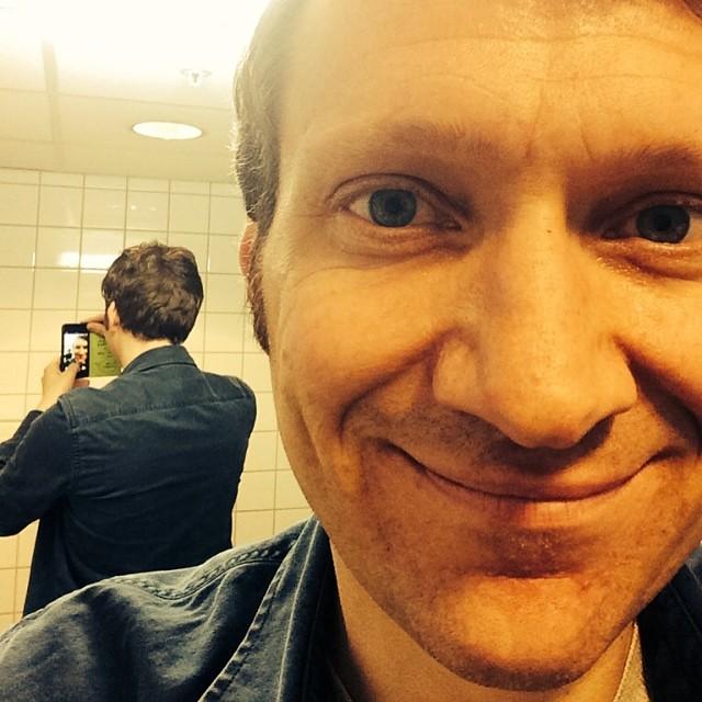 Anders Bortne i Selfiestafetten