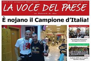 Noicattaro. Prima pagina n. 20-2014 front