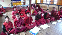 class at monastery