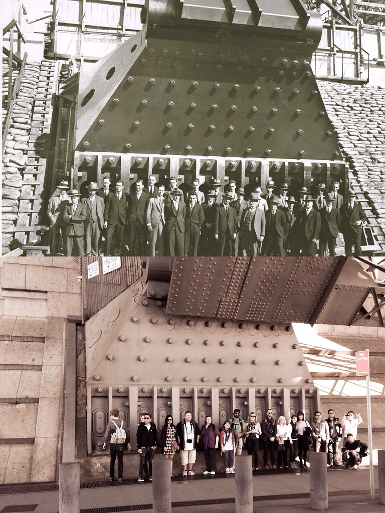 #flickr10photowalks Sydney, 1927 vs 2014