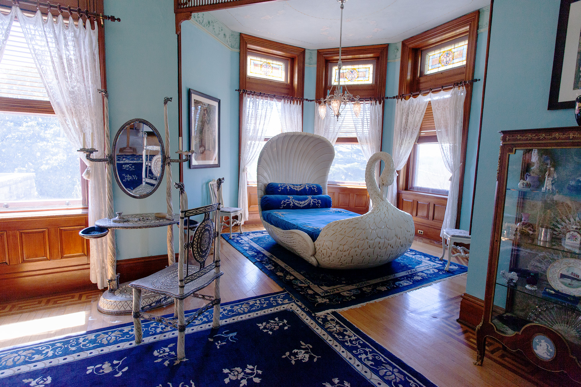 Mrs Dooley's Bedroom at Maymont Mansion