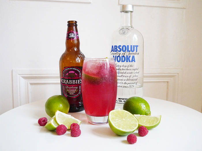 crabbies raspberry moscow mule cocktail recipe degustabox 5