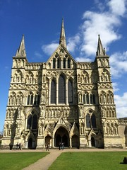 Salisbury Cathedral, Salisbury, England, April 2014