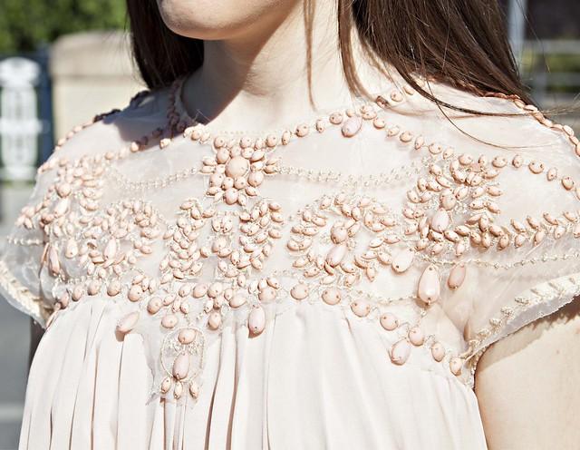 vestido detalles