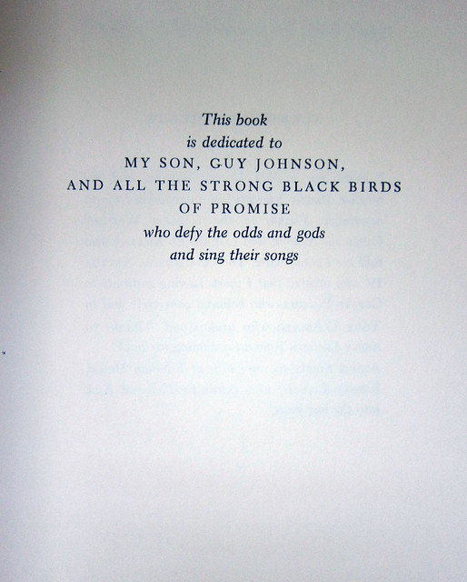 angelou dedication page