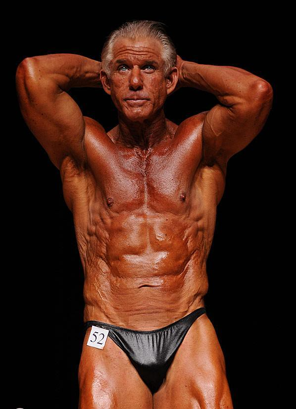 Criticising mature bodybuilder men