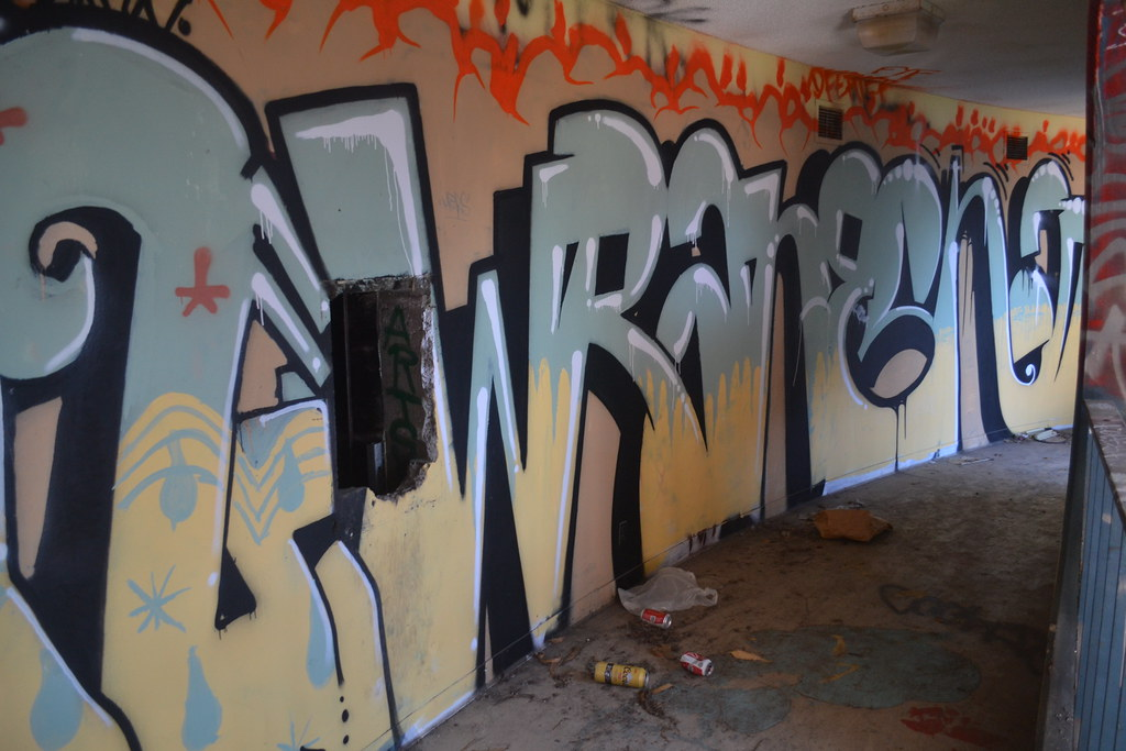 WRANE, San Francisco, chill spot, the yard, Graffiti