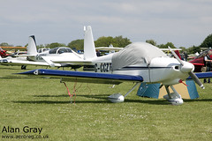 G-CCZT VAN'S RV-9 PFA 320-13777 PRIVATE -Sywell-20130601-Alan Gray-IMG_6511