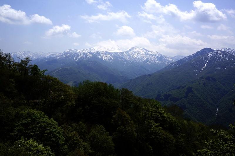 Mt, HAKUSAN from Tyuuguu