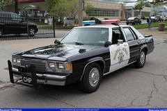 California Highway Patrol Ford LTD