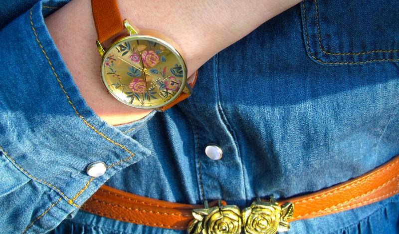 Olivia Burton Floral Parlour Watch