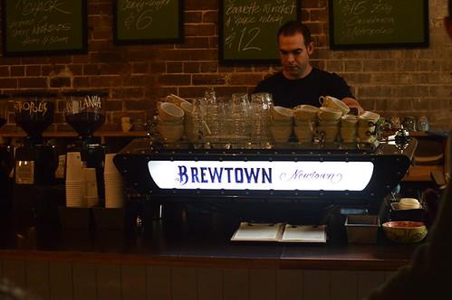 Brewtown Newtown: Barista