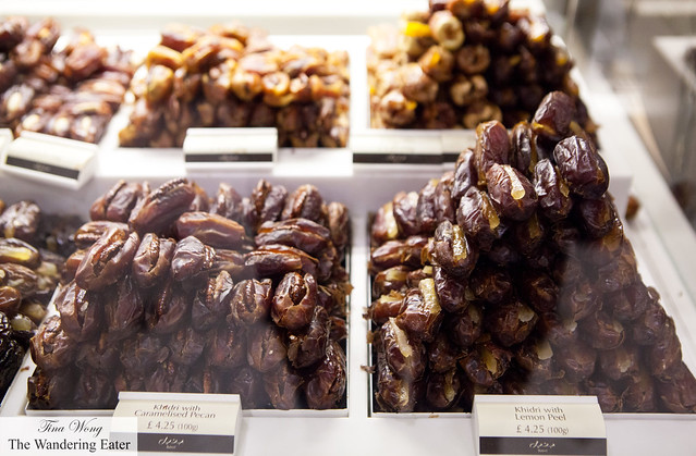 Fancy stuffed Khidri dates