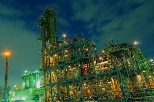 Nightscape at Kawasaki Industrial Zone 36