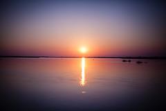 Sun rise Zambezi River