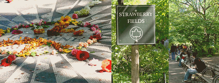 NYC Bucket List - Strawberry Fields