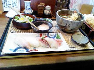 ふるさと 握り寿司ランチ 1380円