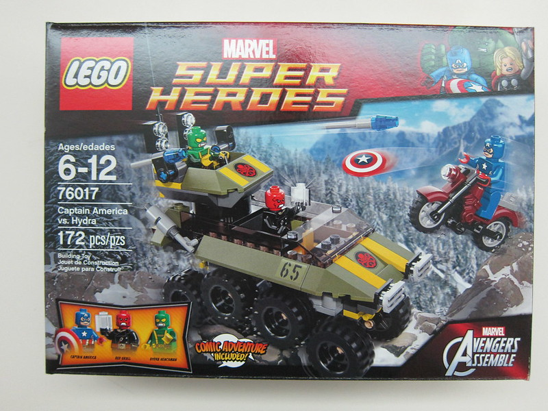 Lego - 76017 - Super Heroes - Captain America vs. Hydra