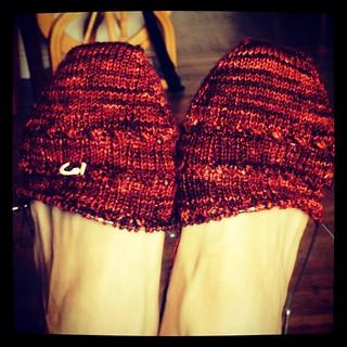 Red Socks WIP 1