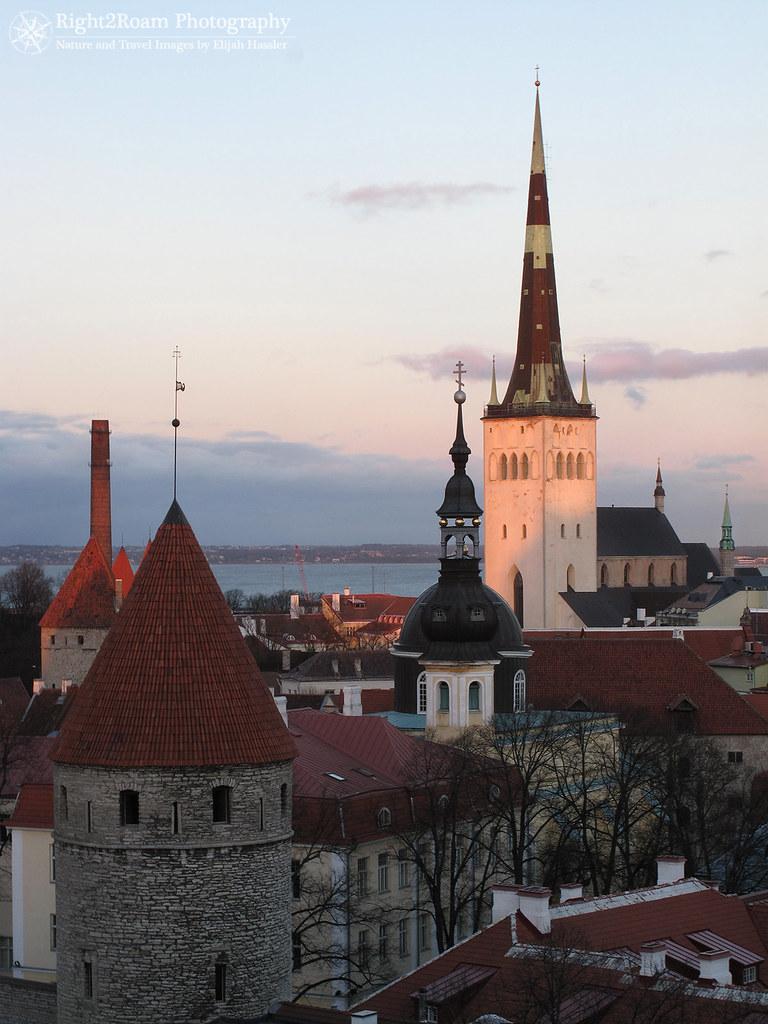 Spires of Tallinn