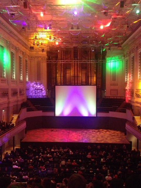 Halloween showing of Noasferatu at Birmingham Town Hall, by Parmjit Flora