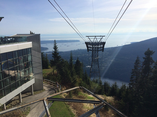 Grouse Mountain after my first Grind of the season (May 20, 2014)