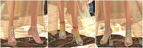 Lassitude & Ennui new sandals