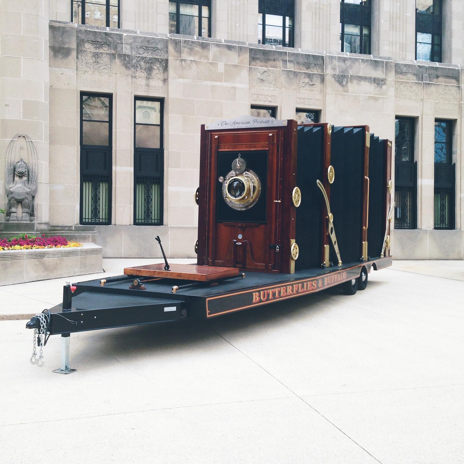 World's Largest Antique Film Camera