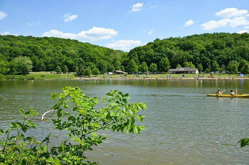 Raccoon Creek State Park Lake