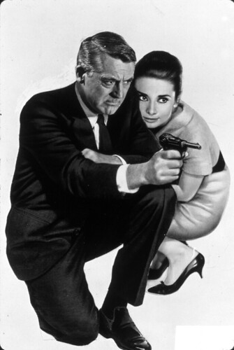 Audrey Hepburn and Cary Grant in Charade,1963
