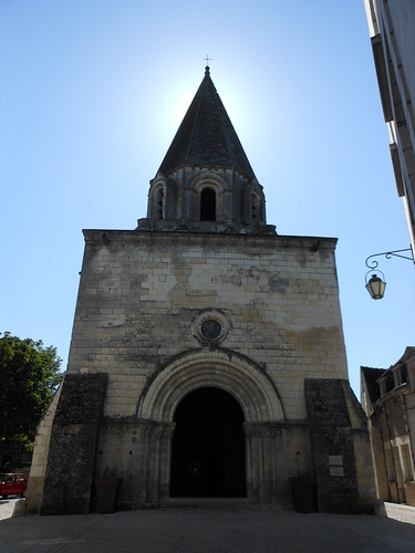 Romanesque church in Loches