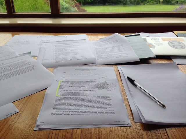resorting to paper... #research#  #proposal from Flickr via Wylio