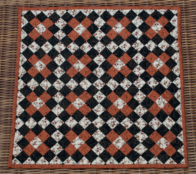Jo\'s 9 Patch Chain quilt