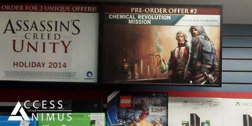 Assassin's Creed Unity DLC, Chemical Revolution outed by retailer