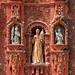 Detalle de la fachada de la Misión de Santa María del Agua de Landa por Daniel Salinas Córdova