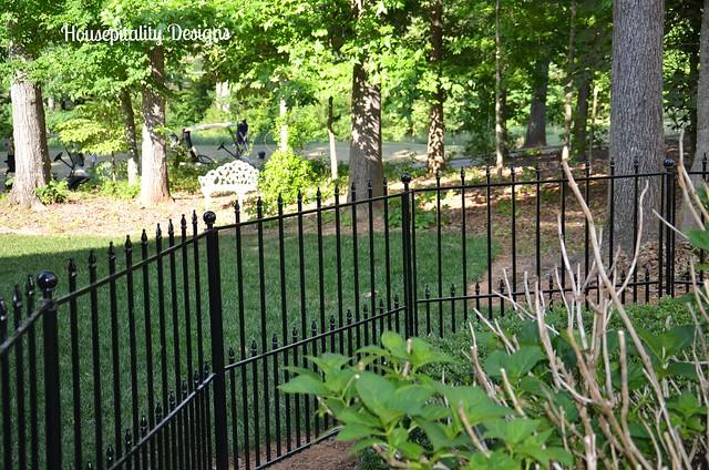 Hydrangea Fencing