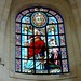 3 - La Rochelle Cathédrale Saint-Louis Vitrail de l'abside réalisé par l'atelier Emile Hirsch Saint Eutrope baptise sainte Eustelle ©melina1965