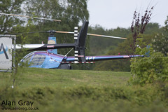 G-ZAPY ROBINSON R22 BETA 0788 PRIVATE - Sywell - 20130601 - Alan Gray - IMG_9329