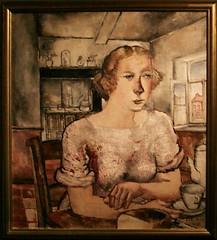 Paul delvaux 1897 1994 le petit d jeuner het ontbijt for Paul delvaux le miroir