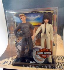 "Barbie e Ken ""Harley Davidson"" Giftset"