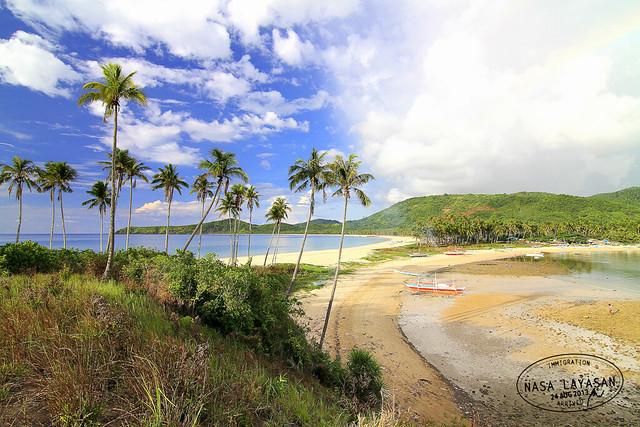 Nacpan and Calitang Twin Beach